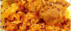 ΧΟΙΡΙΝΟ ΚΟΚΚΙΝΙΣΤΟ ΜΕ ΛΑΧΑΝΟ!!! Cookbook Recipes, Cooking Recipes, Appetizers, Chicken, Meat, Food, Chef Recipes, Appetizer, Essen