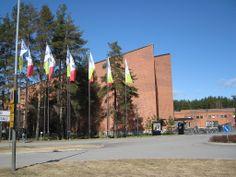 UEF - Joensuu campus, Carelia building Finland, Conference, Street View, Building, Places, Buildings, Construction, Lugares
