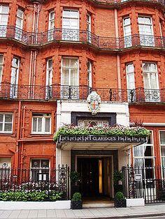 Claridges Hotel in London
