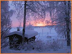 finland - Upea sininen hetki