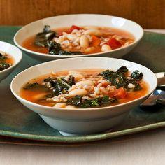 $3 Italian Soups #RRItaly | http://www.rachaelraymag.com/recipes/rachael-ray-magazine-recipe-search/3-italian-soup-recipes/