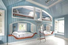 World s Coolest Bunk Beds for Kids Amazing bunk beds | Home Renovation | Fresh…
