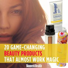 20 Game-Changing Beauty Products That Almost Work Magic | Women's Health Magazine