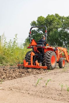 Small Tractors, Compact Tractors, Compact Tractor Attachments, Landscape Rake, Tractor Accessories, Kubota Tractors, Tractor Implements, Landing, Pride