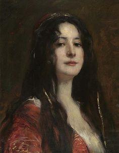 File:Fausto Zonaro (attr) Türkisches Mädchen.jpg - Wikipedia, the free encyclopedia