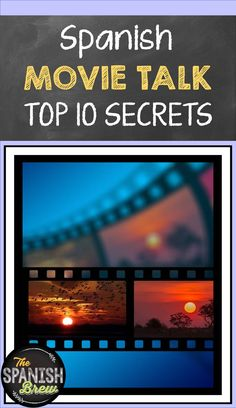 Ten Awesome Techniques For Movie Talk In The Language Classroom - The Spanish Brew Spanish Vocabulary, Spanish Language Learning, Vocabulary Activities, Class Activities, Language Activities, Teaching Spanish, Learning Resources, Spanish Classroom, Listening Activities
