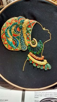 Best 12 Hello everyone It has been some time since I posted, but that is because I have been very busy working on – SkillOfKing. Hand Embroidery Stitches, Hand Embroidery Designs, Embroidery Kits, Diy Broderie, Zardozi Embroidery, African Art Paintings, Art Africain, Africa Art, Button Art