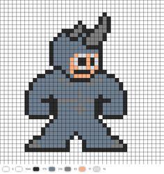 Rhino Perler Bead Pattern From Spider-Man