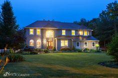 Cedar Brook, NJ Real Estate Photography Session #s18photo #twilight #exterior #bluehour