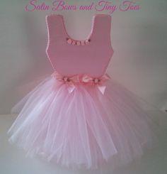 TuTu Ballerina Centerpiece Pink by SatinBowsandTinyToes on Etsy