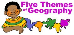 5 Themes of Geography - Free Lesson Plans, Activities, Games