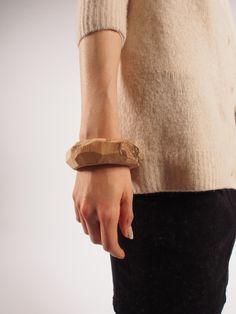 wooden bangle, coyosa design - Sayoko Kobayashi