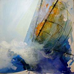 """Barlovento"" por Ximena Gumucio en #HsmChile #VinadelMar #Chile #Arte #Pintura #Turismo"