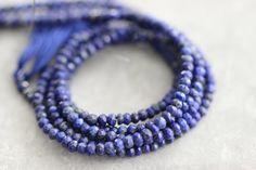 Lapis Lazuli Full Strand 14 inch Strand by StoneCreekSurplus