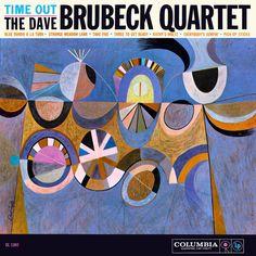 Time Out album, The Dave Brubeck Quartet, 1959.