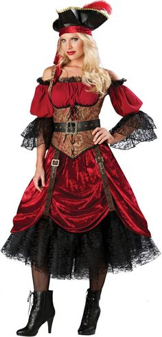 Captivating Scarlet Costume make you feel sexy and stylish.