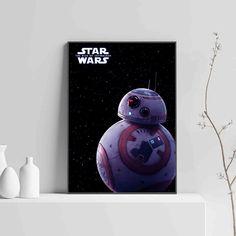 Bb 8 Star Wars The Rise Of Skywalker Poster - Star Wars Bb8 - Ideas of Star Wars Bb8 #starwars #bb8 #starwarsbb8 - Bb 8 Star Wars The Rise Of Skywalker Poster Star Wars Bb8, Star Wars Droids, Cute Stars, Tie Fighter, Star Wars Gifts, Ewok, Star Destroyer, Last Jedi, Star Wars Characters