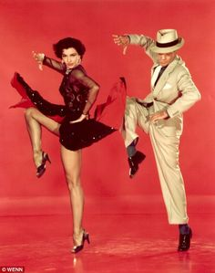 Cyd Charisse and Fred Astaire Band Wagon