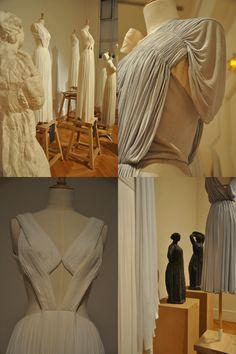 Madame Gres exhibit. Montparnasse.
