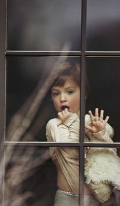 Portrait Photography: Fingertips pressed against window | breath fogs against the glass | waiting patiently. #photography #portrait