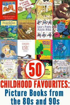 50 Classic Picture Books from the 80s & 90s | Childhood101