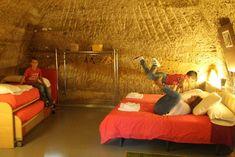 Casas-cueva de las Bardenas.