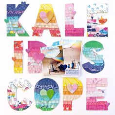 Kaleidoscope Layout by Paige Evans | Paige Taylor Evans