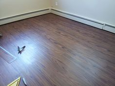 Floor Installation Photos: Wood looking vinyl floor in Feasterville Pennsylvania