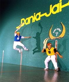 "tripYIP.com - ""Fun Things To Do!"" loves MIAMI, FL:  DANIA JAI-ALAI  It's the World's Fastest Sport  played at the ""The Palace"" of Jai-Alai."