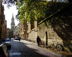 Jesus College Oxford, from Turl Street