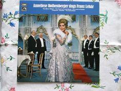 Anneliese Rothenberger sings Franz Lehár - HMV CSD 3695 UK - 1971