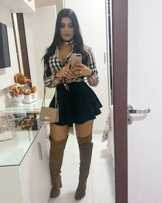 Swans Style is the top online fashion store for women. Shop sexy club dresses, jeans, shoes, bodysuits, skirts and more. Dope Outfits, Skirt Outfits, Classy Outfits, Chic Outfits, Dress Skirt, Fall Outfits, Vintage Outfits, Fashion Outfits, Summer Outfits