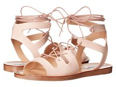 Steve Madden Rella Blush Leather Sandals