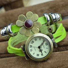 Watch for Women, Leather Watch, Watch Bracelet