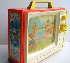 Remember this? scrolling pictures set to nursery rhymes