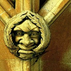 A fierce Green Man! Masonic Symbols, King's College, Man Images, Contemporary Artwork, Green Man, Middle Ages, Castles, Celtic, Medieval