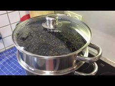 schwarze Johannisbeeren im Dampfentsafter