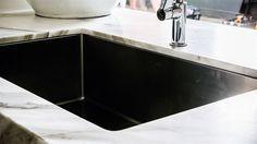 Huge deep sink