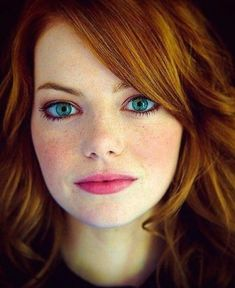 33 trendy hair color for pale skin and blue eyes redheads emma stone - All For New Hairstyles Beauty Make-up, Beauty Secrets, Beauty Women, Emma Beauty, Beautiful Redhead, Most Beautiful Women, Beautiful Freckles, Beautiful Gorgeous, Eyebrows