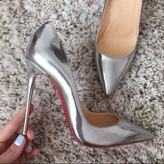 Cheap silver high heel shoes, Buy Directly from China Suppliers:GENSHUO Women Pumps High Heels Silver Sexy High Heels Shoes for Women Stilettos Fashion Luxury Wedding Party Shoes Big Size High Heels Boots, Hot High Heels, High Heel Pumps, Womens High Heels, Women's Pumps, Stiletto Heels, Shoes Heels, Flat Shoes, High Heels For Kids