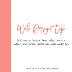 Is it immediately clear what you do when someone lands on your website?⠀⠀⠀⠀⠀⠀⠀⠀⠀ ⠀⠀⠀⠀⠀⠀⠀⠀⠀ If you want your visitors to hang around for more than a few seconds, it needs to be!⠀⠀⠀⠀⠀⠀⠀⠀⠀ ⠀⠀⠀⠀⠀⠀⠀⠀⠀ You have about 5 seconds to catch someone's and give them a reason to stay, or they'll be jumping ship, so you need to have a catchy tagline front and centre on your home page.⠀⠀⠀⠀⠀⠀⠀⠀⠀ ⠀⠀⠀⠀⠀⠀⠀⠀⠀ 👉 Call out the people you help so they know they're in the right place⠀⠀⠀⠀⠀⠀⠀⠀⠀ 👉 Give them a good… Your Website, Want You, When Someone, Web Design, 5 Seconds, Centre, Instagram, Ship, People