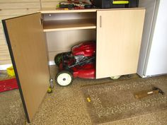 1000 images about push mower on pinterest reel lawn for Garage designs com