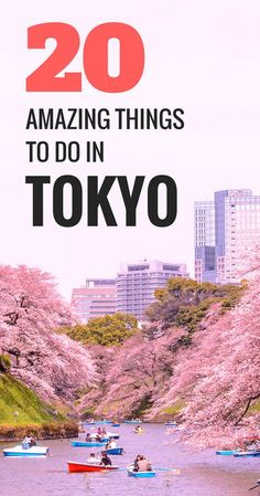 20 amazing things to do in Tokyo. The capital of Japan has so much to offer and there are just so many places to see in Tokyo. Wondering what to do in Tokyo? Tokyo Things To Do, Places In Tokyo, Places To See, Tokyo Japan Travel, Japan Travel Guide, Asia Travel, Japan Trip, Tokyo Tourism, Tokyo Trip