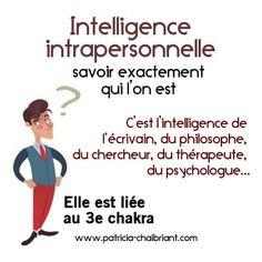 Qu'est ce que l'intelligence intrapersonnelle Chakra Du Plexus Solaire, Test Image, L Intelligence, Les Chakras, Reiki Chakra, Traditional Chinese Medicine, Positive Attitude, Plexus Products, Yoga Fitness