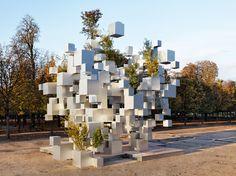 Les cubes de Sou Fujimoto à Paris cube fujimoto paris 07 870x652
