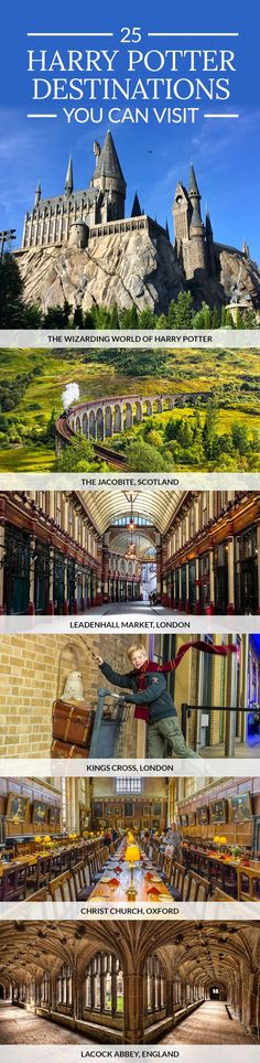 25 Harry Potter Destinations You Can Visit in Real Life. The Ultimate Harry Potter Travel Bucket List. 25 Harry Potter Destinations You Can Visit in Real Life. The Ultimate Harry Potter Travel Bucket List. Oh The Places You'll Go, Cool Places To Visit, Places To Travel, Europe Destinations, Turkey Destinations, Holiday Destinations, Holiday Places, Travel Europe, Spain Travel