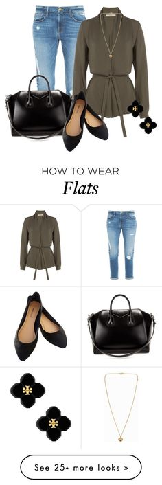 """""""Professional Wardrobe for All Ages Outfit: 63"""" by vanessa-bohlmann on Polyvore featuring Frame Denim, Etro, Givenchy, Tory Burch and Michael Kors"""