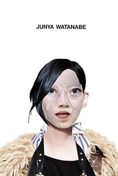 Dina Lynnyk-fashion-collage-junya-watanabe