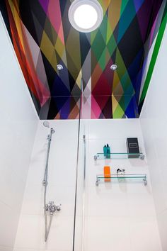 Contemporary Bathroom by Jenna McLaughlin Edinburgh