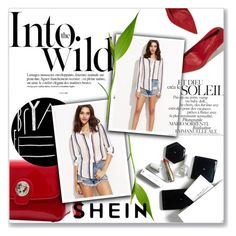 """Shein contest"" by azradzana ❤ liked on Polyvore featuring Anja and H&M"
